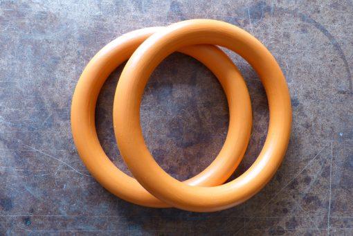 Gymnastické kruhy drevené