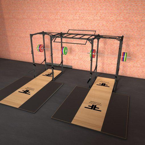 Silové klietky s rebríkom a pódiami