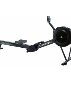 Veslársky trenažér Concept2 D/PM5 čierny